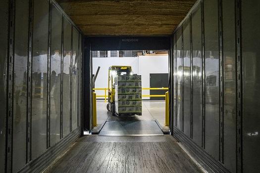 warehouse labor service unloading a truck