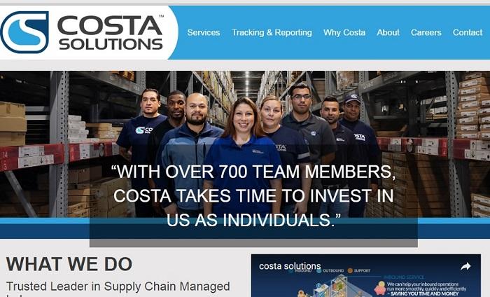 costa announces new website